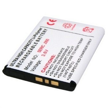 Sony Ericsson BST-36 Battery - Z550i, Z310i, W200i, T280i, K600i