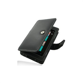 Nokia Lumia 800 PDair Leather Case - Black