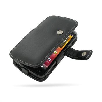 HTC Sensation, Sensation 4G, Sensation XE PDair Leather Case - Black