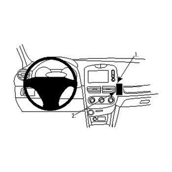 Brodit ProClip Renault Clio IV 13-14