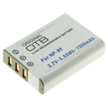 Fujifilm NP-95 Battery - X100S, X100T, X-S1, X30 - 1500mAh