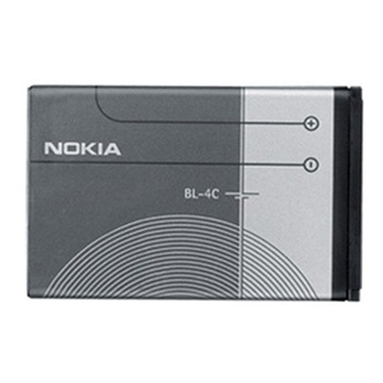 Nokia BL-4C Battery - 6136, 6170, 6260, 6300, 6300i, 6301, 7200, 7270
