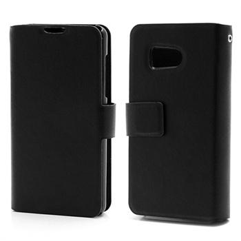 Huawei Ascend Y300 Wallet Leather Case - Black