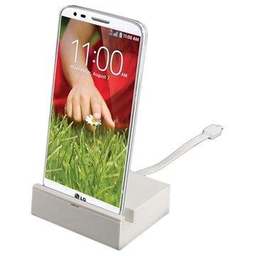 LG G2 Desktop Charger - White