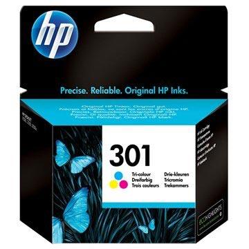 HP 301 Multipack Ink Cartridge - Deskjet 1000, 1050, 2540 AiO - 3 Colours
