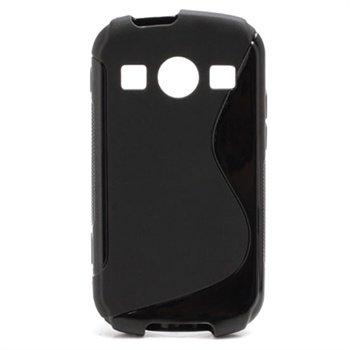 Samsung S7710 Galaxy Xcover 2 S-Curve TPU Case - Black