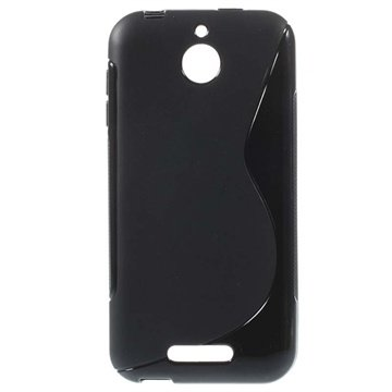 HTC Desire 510 S-Curve TPU Case - Black