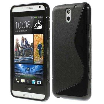 HTC Desire 610 S-Curve TPU Case - Black