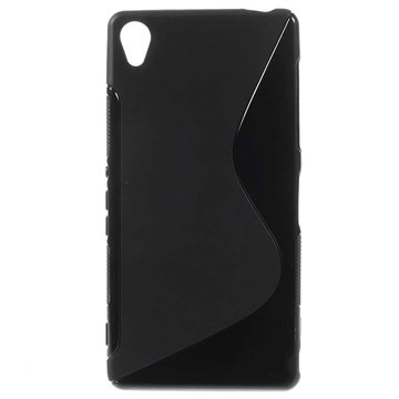 Sony Xperia Z3 S-Curve TPU Case - Black