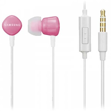 Samsung EHS62ASN Stereo Headset - P1010 Galaxy Tab, Galaxy Ace S5830 - Pink