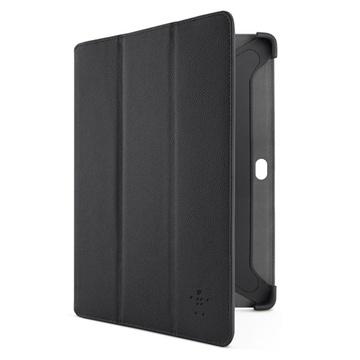Samsung Galaxy Note 10.1 N8000, N8010 Belkin Tri-Fold Folio Case - Black