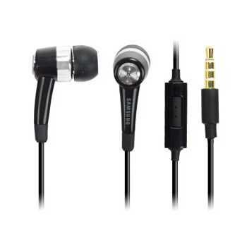 Samsung EHS44ASSBE Stereo Headset - P1000 Galaxy Tab, I9000 Galaxy S - Black