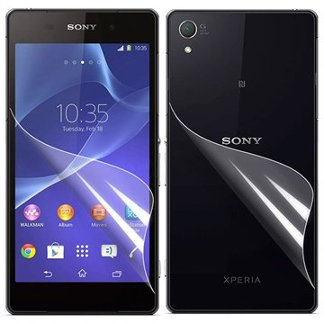 Sony Xperia Z2 Screen Protector Set - Clear