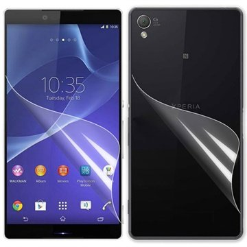 Sony Xperia Z3 Screen Protector Set - Clear