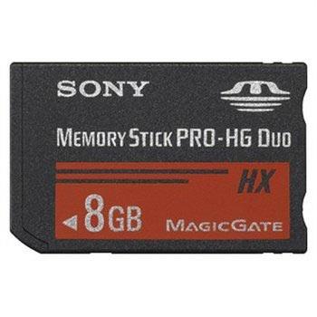 Sony Memory Stick PRO-HG Duo HX - 8GB