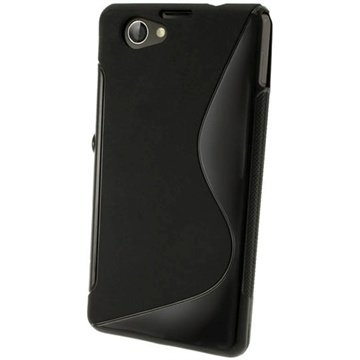 Sony Xperia Z1 Compact iGadgitz S Line TPU Case - Black