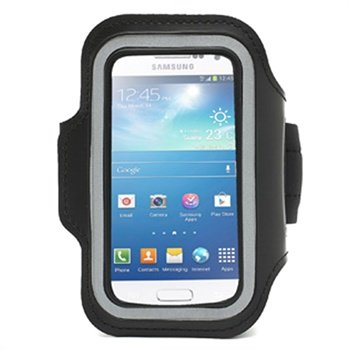 Sport Gym Armband Samsung Galaxy S4 Mini I9190 I9192 I9195 Black