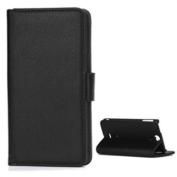 Sony Xperia V Wallet Leather Case - Black