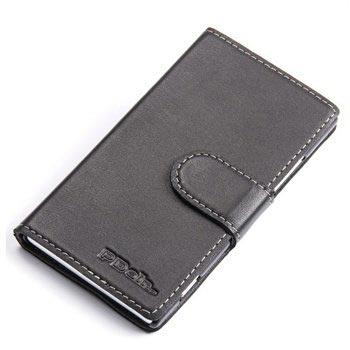 Nokia Lumia 925 PDair Leather Case - Black