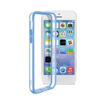 IPhone 5C Puro Bumper - Transparent / Blue