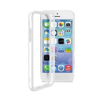 IPhone 5C Puro Bumper - Transparent / White