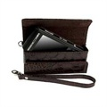 Krusell Divine Croco Pouch - Brown