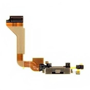 Apple iPhone 4 System Connector & Flex Cable - Black