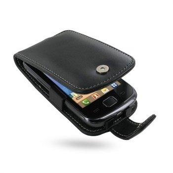 Samsung Galaxy Gio S5660 PDair Leather Case - Black
