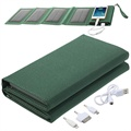 Portable Folding Solar Power Bank - 8000mAh