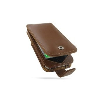 iPhone 4 / 4S PDair Leather Case - Brown