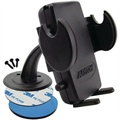 Arkon Mega Grip Universal Car Holder - Adhesive Dash / Console Mount - Black