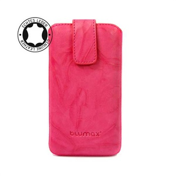 Blumax Leather Case - Pink