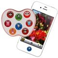 Cyoo Home Button Sticker - iPhone 5, iPhone 4S, iPad 3 - Funny Animals