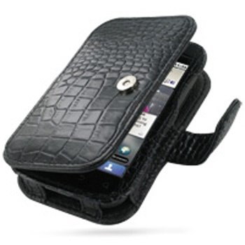 Motorola DEFY PDair Leather Case - Black