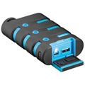Goobay Outdoor External Battery / Power Bank - Black / Blue