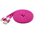 Goobay USB 2.0 / MicroUSB Cable - Pink