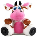 Lofter Plush Toy Handsfree Bluetooth Speaker - Cow Nancy