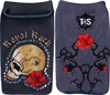 Mobile Phone Sock - Royal Skull