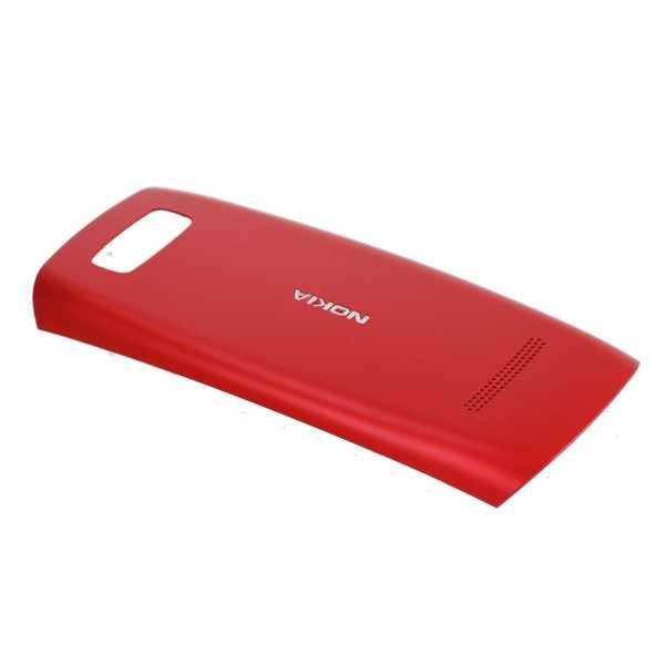 nokia asha 305 asha 306 battery cover red. Black Bedroom Furniture Sets. Home Design Ideas