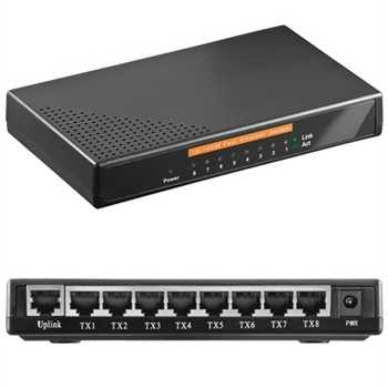 Network Port Switch on Pc 8 Port Network Switch