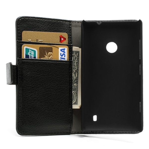 Order A Lumia 520 Leather Wallet Case Mytrendyphone