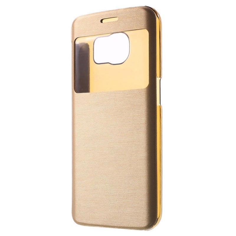 Samsung Galaxy S6 Edge Slim View Folio Case
