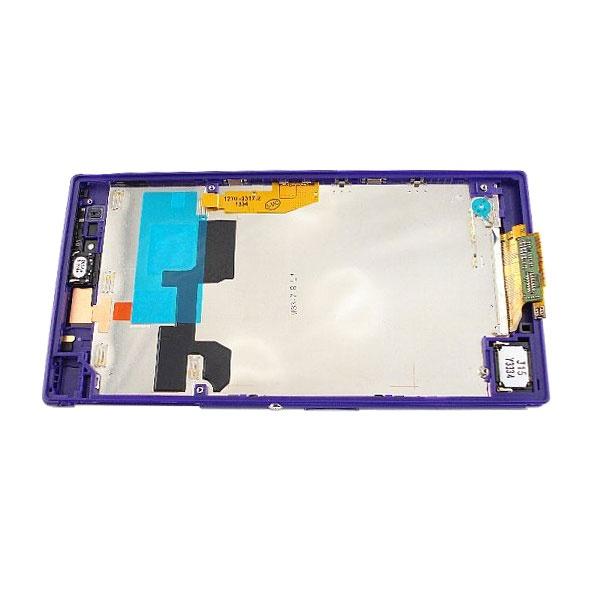 Xperia z purple front