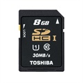Toshiba SD-T008UHS1(BL5 SDHC UHS-1 Memory Card - Class 10 - 8GB