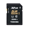 Toshiba SD-T032UHS1(BL5 SDHC UHS-1 Memory Card - Class 10 - 32GB