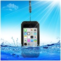 Waterproof Case - iPhone 5C, iPhone 4, iPhone 4S - Black