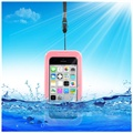 Waterproof Case - iPhone 5C, iPhone 4, iPhone 4S - Pink