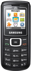 Samsung E1107 Crest Solar accessories