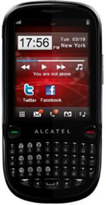 Alcatel OT-807 accessories