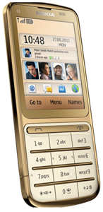 Nokia C3-01 Gold Edition accessories